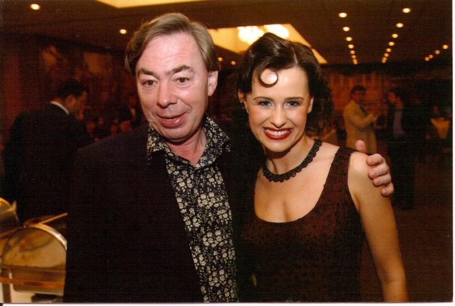 Andrew Lloyd Webber és Mahó Andrea
